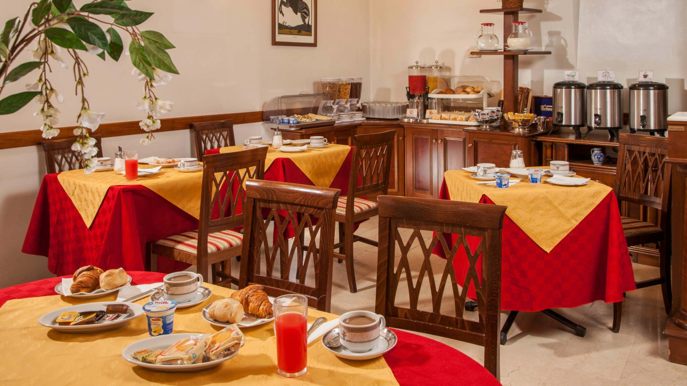 Hotel-Grifo-De-Monti-Rooms-Rome-petit-déjeuner-3