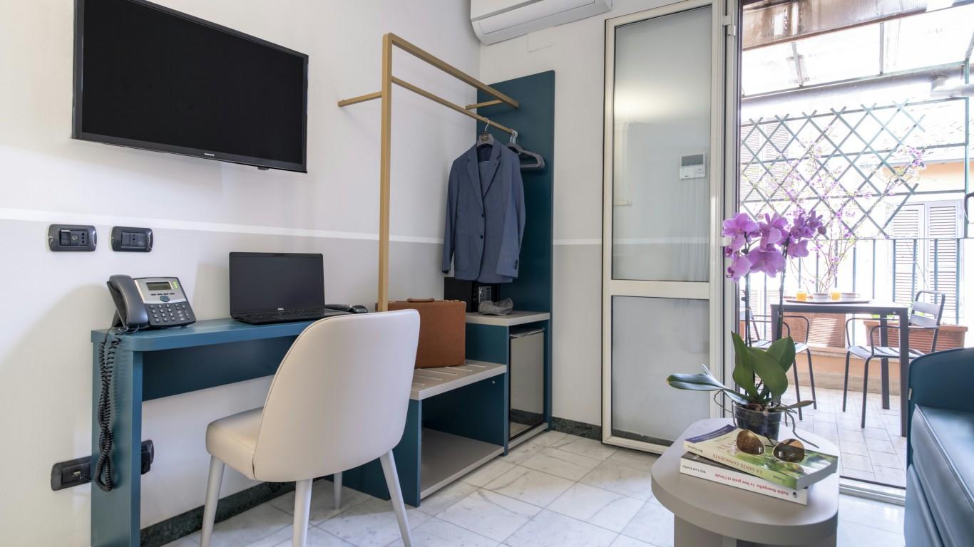 Hotel-Grifo-De-Monti-Rooms-Roma-habitación-deluxe-6