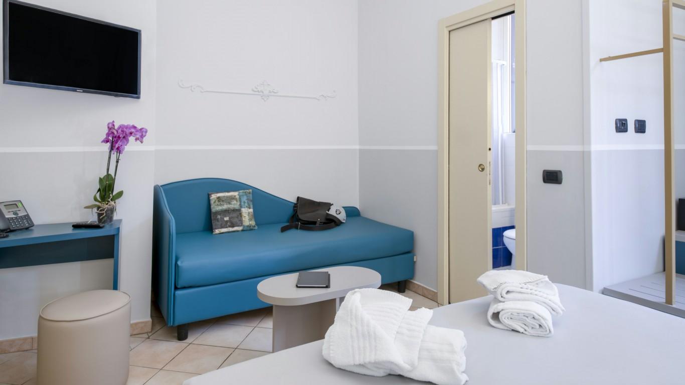Hotel-Grifo-De-Monti-Rooms-Roma-habitación-superior